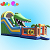 Guangzhou perfect inflatable product Ccrocodile inflatable water slide ,cheap inflatable slide bouncer for sale