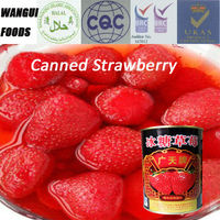 canned strawberry in light syrup