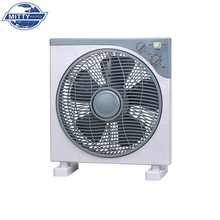 5 Pcs PP Blade Aluminum Motor 12 Inch Stand Box Fan With Timer