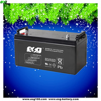 Lead acid accumulator 12V 110ah maintenance free AGM battery