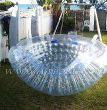 Giant bubble jumbo water ball inflatable water walking ball rental human hamster water ball W1001