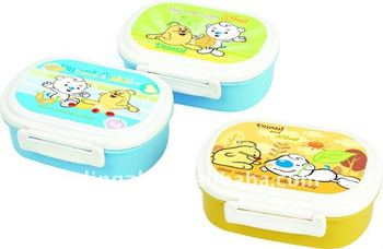 cartoon lunch box