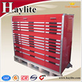 China made movable heavy duty steel tool cabinet for sale