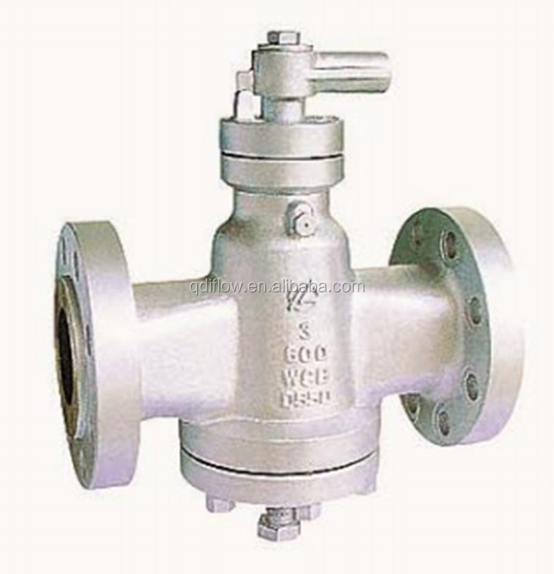 Inverted Pressure Balance Lubricated Plug Valve ANSI