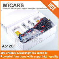 2014 hot sell Canbus fast bright HID kit 55w for BMW BENZ VW