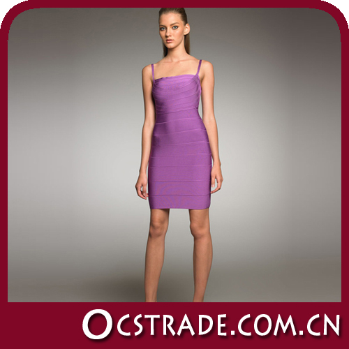 2014 halter women beautiful lilac evening dress
