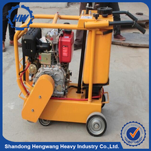 reinforced asphalt electrical pavement floor saw road cutting machine