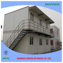 low cost villa modular container kiosk prefabricated container living home