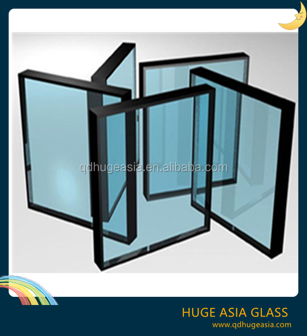 Low E Glass Insulated Glass With Ce Iso Certificate
