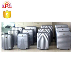 12 pcs abs unfinished luggage, skd luggage, luggage cover