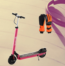 8 Inch e-scooters with handlebar and pedal for safe riding