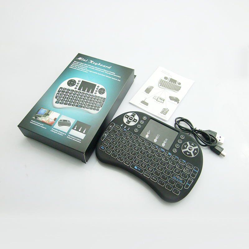 2.4GHz Wireless Remote Control Touchpad Backlight bluetooth mini PC Smart TV Android TV keyboard