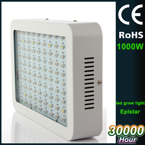 AC85-265V CE ROHS certification IP65 1000W plant grow led light