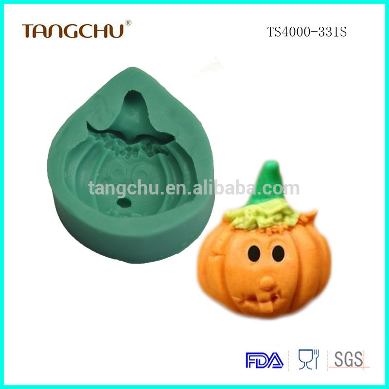 Halloween Pumpkins Shape Food-grade Silicone Mold Cake Decorating Tools 2017 New For Amazone Baking Moulds