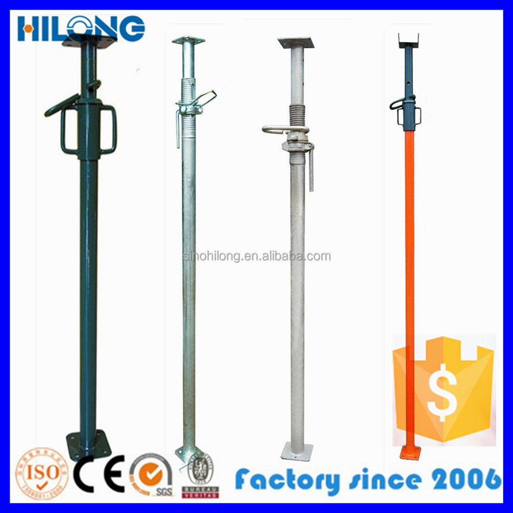 Pole Shoring Jacks : Scaffolding shoring post props jack used in construction