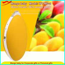 Mango powerbank handwarmer /high quality usb best birthday <strong>gift</strong> for girlfriend