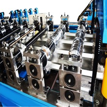 Manufacturer tapered roof panel roll forming machine bemo steel