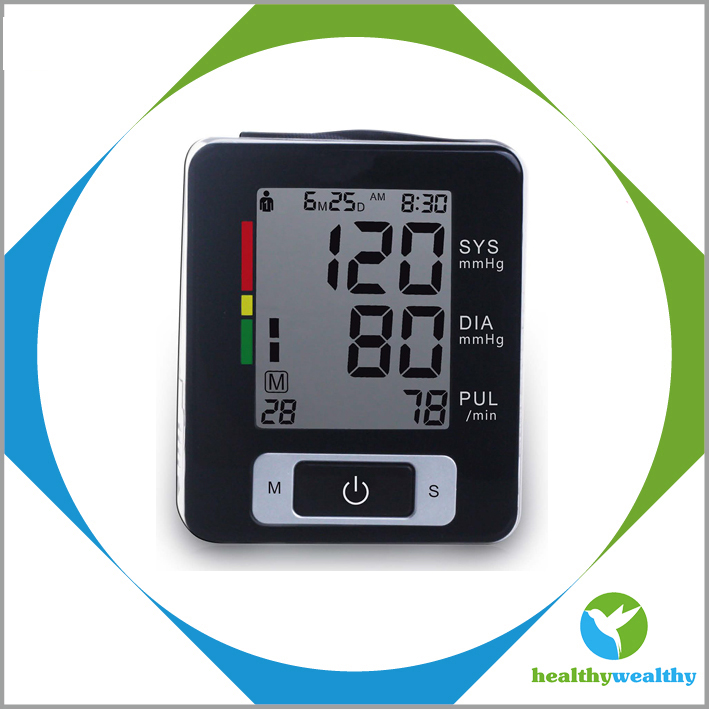 OEM and ODM HealthyWealthy Wrist Blood Pressure Monitor/Medicine