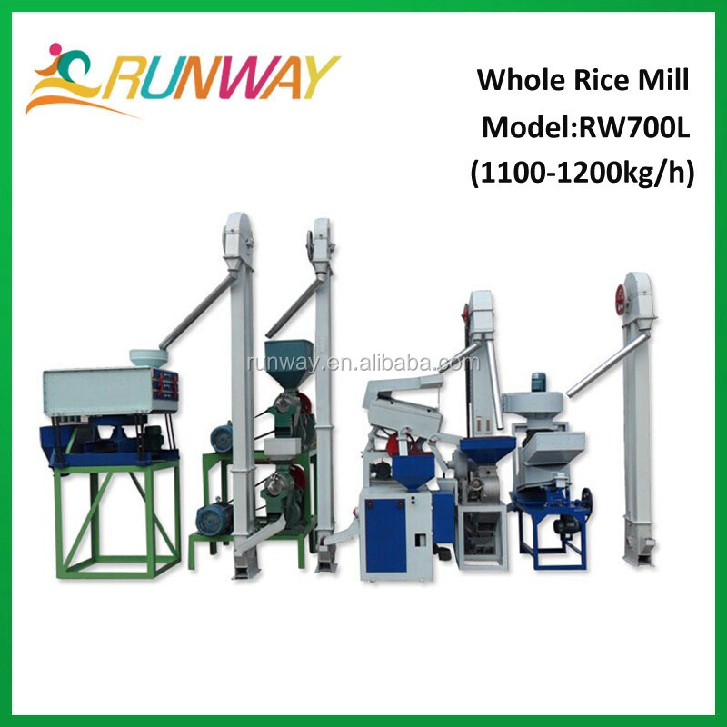 Auto parboiled price rice mill machinery Senegal