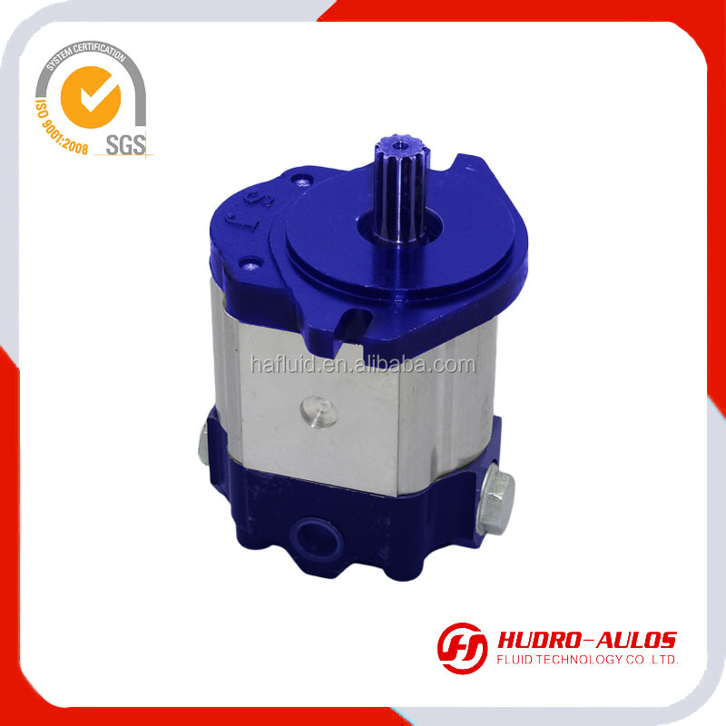 586R engineering machines for constant flow pump of HLCB series,constant flow capacity4-25L/min gear pump for farming machines
