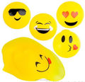 12 EMOJI BALLS SQUISHY TOY STRESS RELIEVER GOODY BAG BALL
