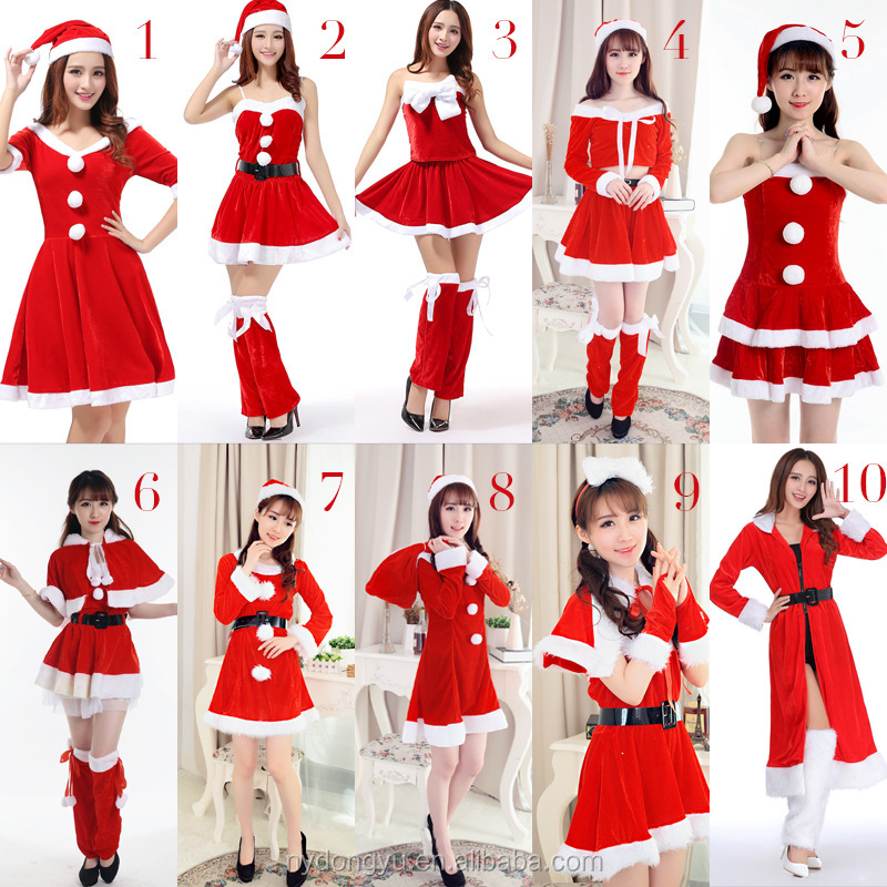 Women chritmas dress sexy cosplay costume/kqt Women Halloween Christmas party makeup clothes/ Cosplay Costume