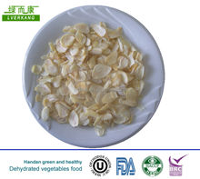 2014 dry pure white top grade EU standard pure white garlic flakes ,pure white dehydrated garlic flake