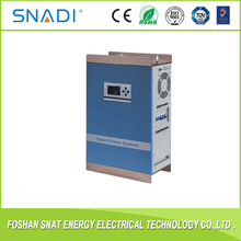 300w Off grid solar power system of hybrid inverter with built-in charge controller