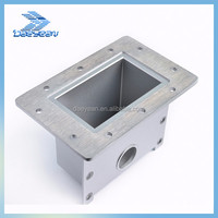 China manufactured aluminum casting microwave waveguide for 1000w and 1500W magnetron