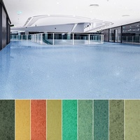 Anti-slip Fireproof UV Coating PVC Flooring Commercial Floor