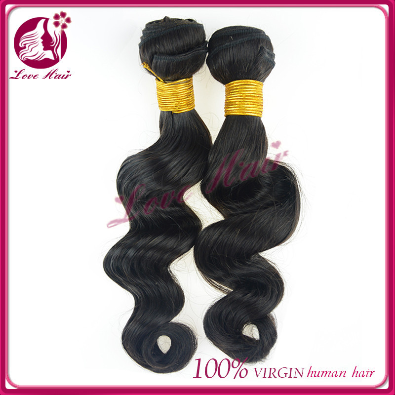 Famous types restore brazilian hair color naturally long/short human hair for black women 10 inch loose wave brazilian hair
