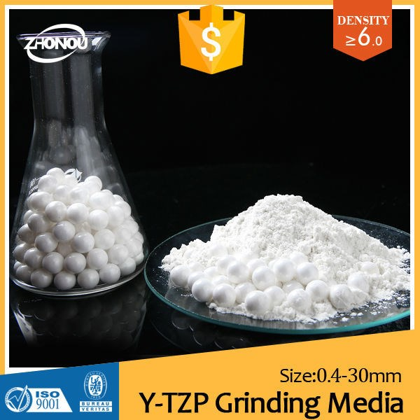 nano zirconia polishing powder/yttria stabilized zirconium bead/zirconia beads