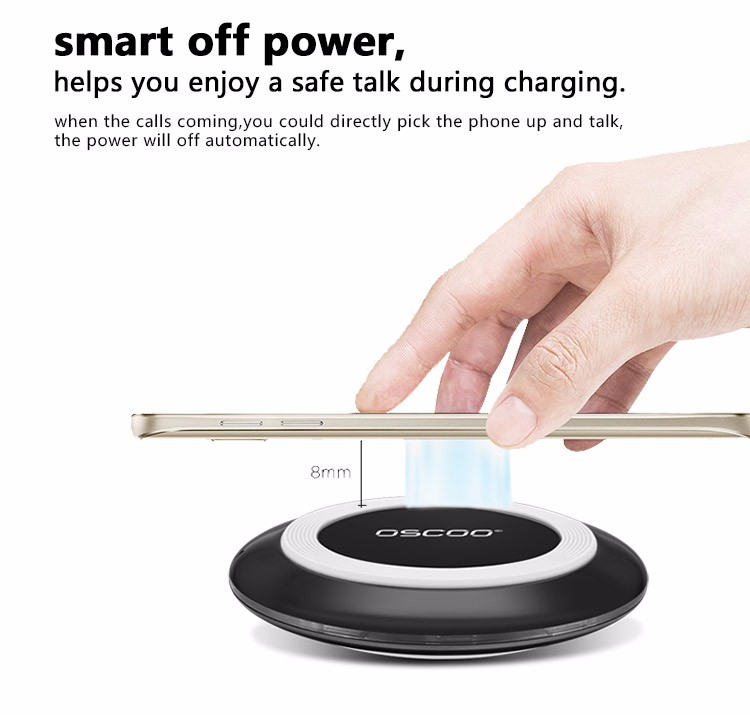 OSCOO Mobile Accessories wireless power pad/wireless charger/wireless charging pad