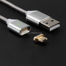 Magnetic Micro Usb Cable double micro usb data charging cable for ios and android