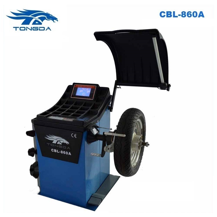 carton fair hot selling car tyre balancing machine with CE&ISO for tyre shop and car service station