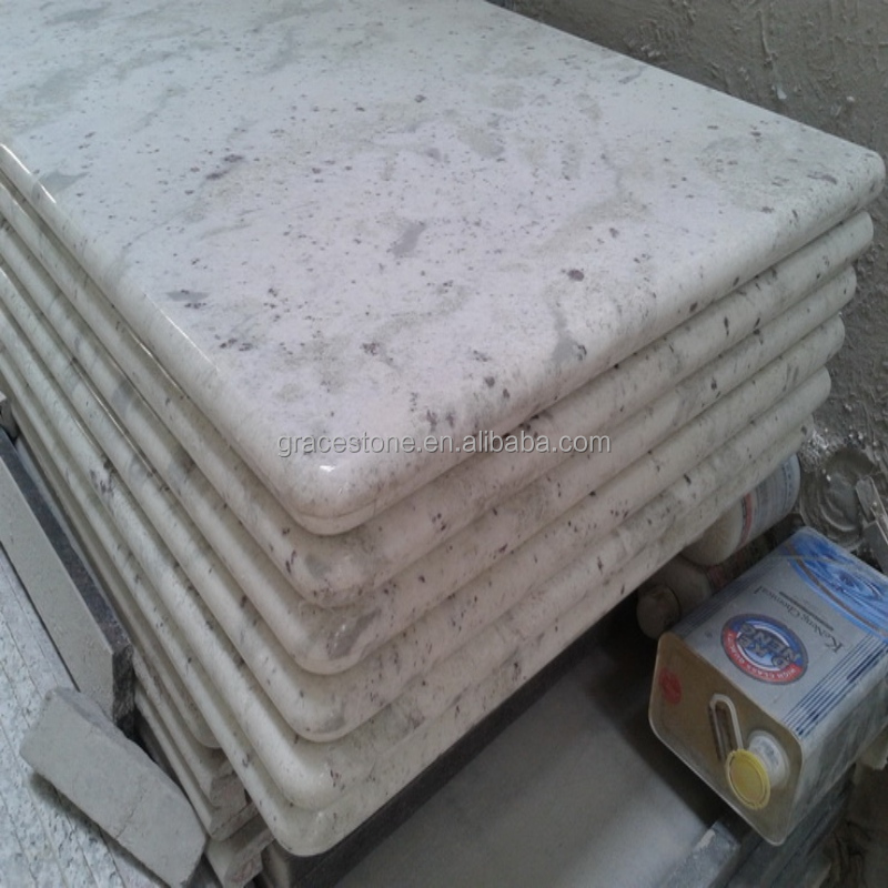 White Granite for Countertop Andromeda White Granite Slab