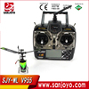 "Mini 2.4G "" Flybarless "" remote control helicopter V955 4ch with gyro propel rc helicopter"