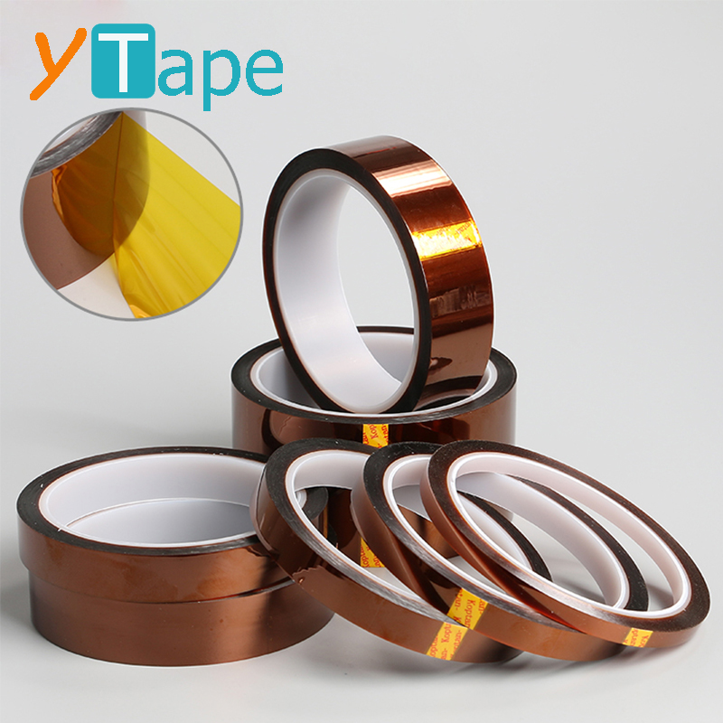 High Temperature Heat Insulation 3D Printer Kaptons Film Polyimide Silicone Adhesive Tape