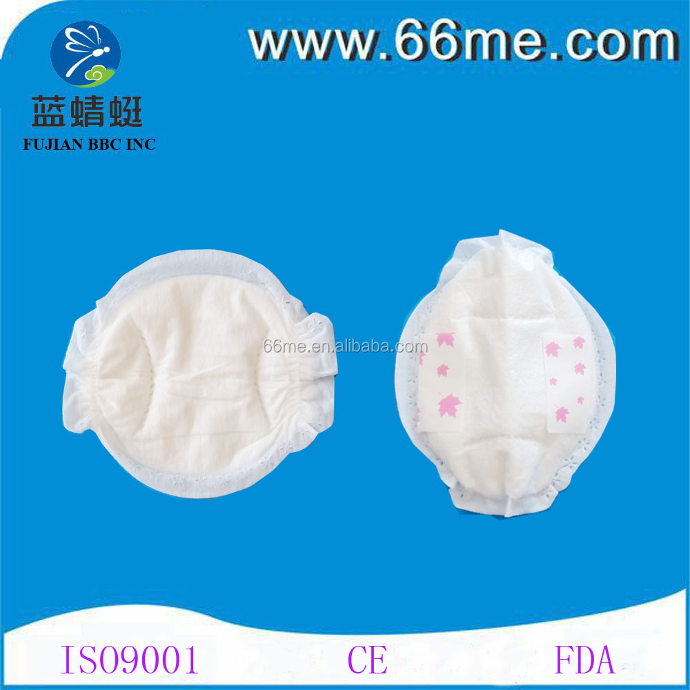 Disposable Hot Sale thin soft Ultra thin high absorption women foam breast pads