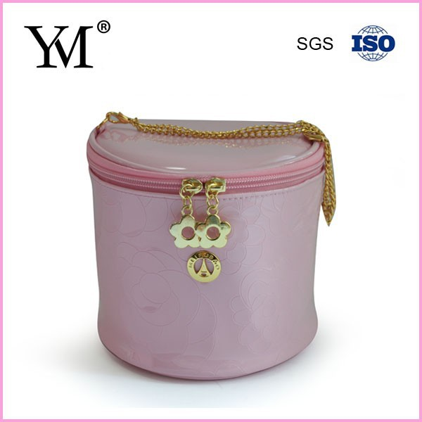 Travel use beauty cosmetic case bag