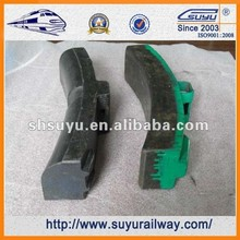 Suyu railway high friction Composite brake shoes