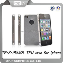 Ultra-slim TPU case for IPHONE MINI with various colors,for 6/6s phone case, for iphone case