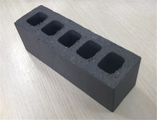 Black construction hollow brick for loading bearing with size 230x75x70mm