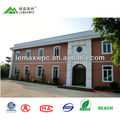 Volume supply fashionable wholesale wpc exterior 3d wall panel
