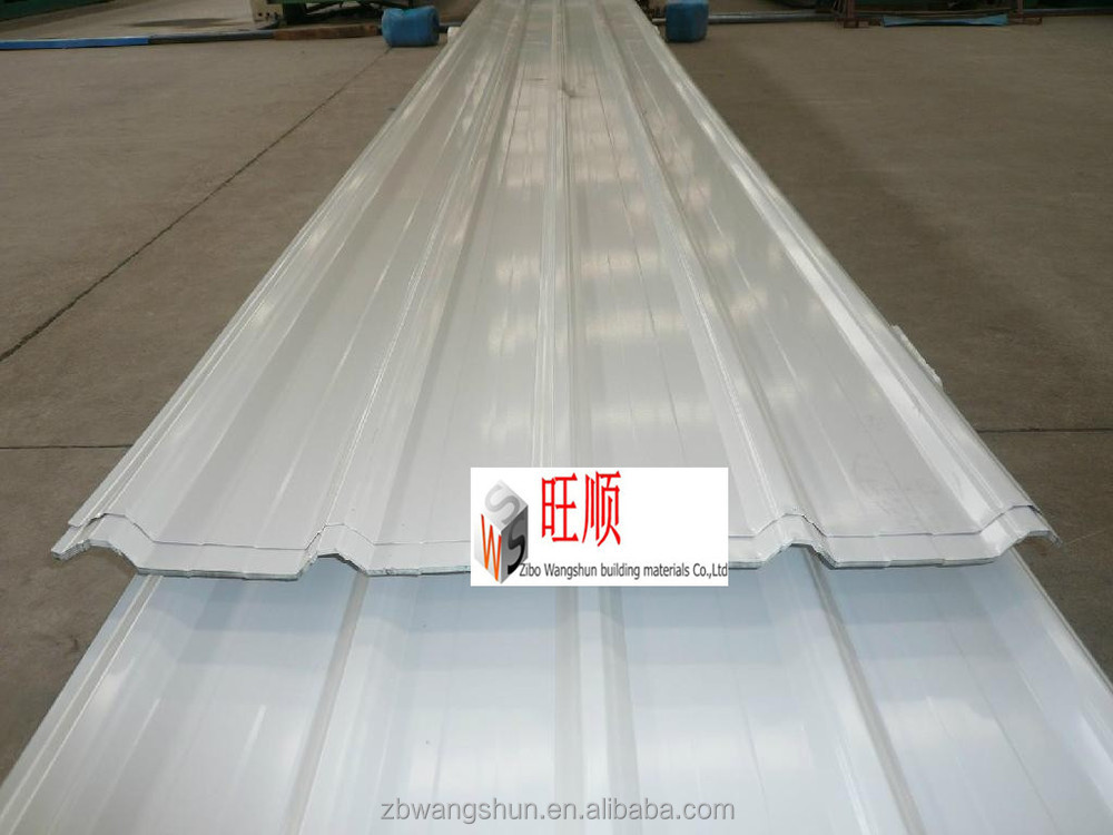 2015 Chinese high quality soundproof color coated corrugated galvanized steel tile roofing sheet