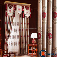 Traditional design ready made indian style curtains