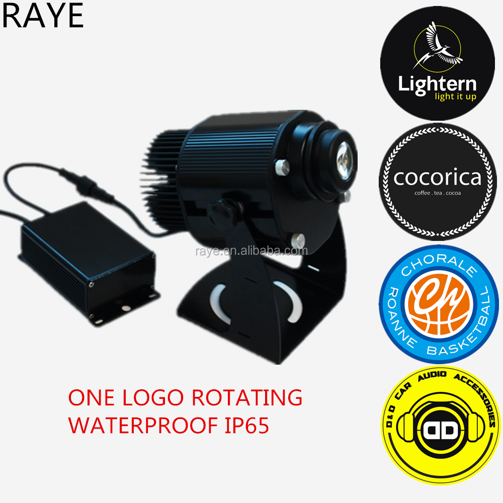 4000K customized designed gobo image laser projecctor lighting