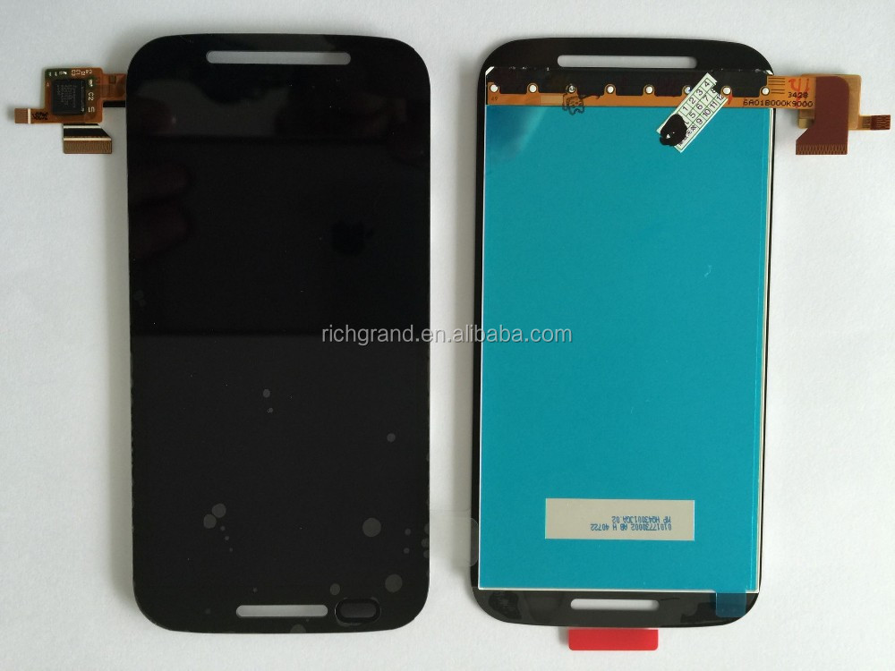 For Motorola Moto E XT1021 XT1022 XT1025 full LCD display touch screen digitizer with frame assembly