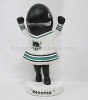 custom sports bobblehead, resin bobble head