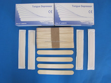 Paper wrap month use disposable sterile tongue depressor holder use medical